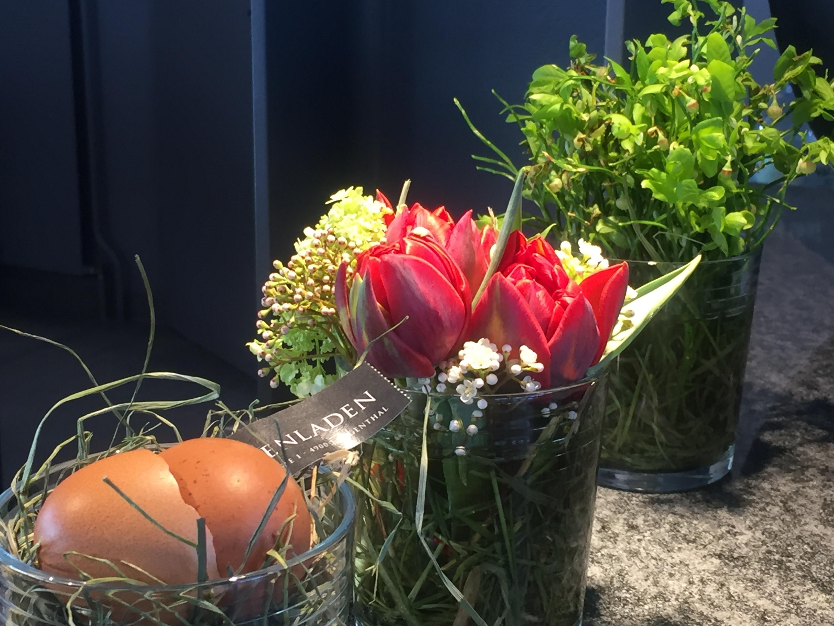 Sommerwetter während der Frühlingsausstellung