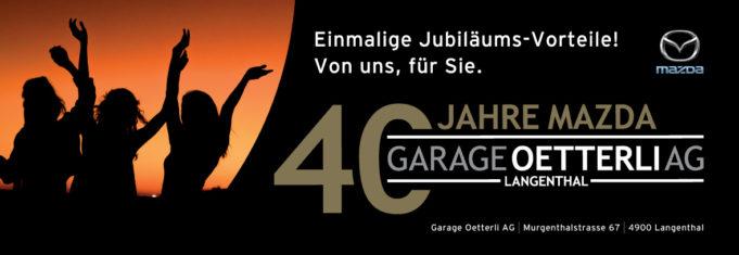 40 Jahre Mazda Langenthal- dank Ihnen!