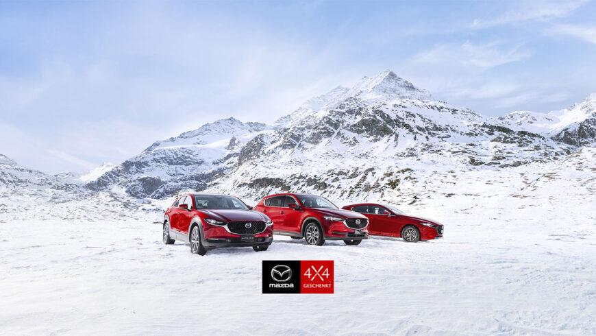 Mazda 4×4 geschenkt bis 28. Februar 2021